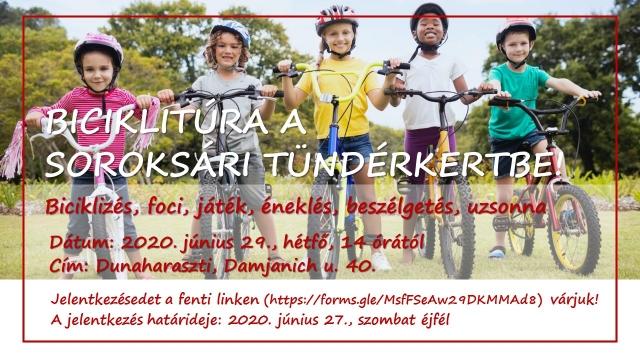 Biciklitúra a Tündérkertbe